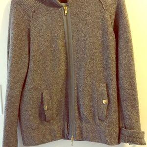 Tory Burch zippered sweater